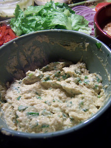 Scallion Hummus